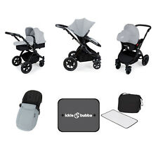 Ickle Bubba Stomp V3 All In One Travel System - Silver/Black - NEW