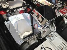 Corvette C4 1992-1996 LT1 ALTERNATOR AIR CONDITION COVER Best Install Stainless