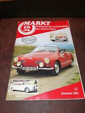 Oldtimer Markt 02 / 1986 - VW Karmann Ghia, Jaguar Mk 2, Bastert Einspurauto