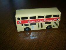 MATCHBOX SUPER KING 1972  DOUBLE DECKER BUS BERLIN GERMANY - MINTY