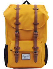 Everyday Deal Travel Laptop Backpack (Mustard Yellow)