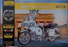 Heller 52993G 1:8th scale Gift set BMW R60/5 Police Motorbike Polizei