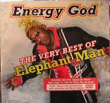ELEPHANT MAN - Energy God - the very best of  Reggae  Dancehall CD + DVD