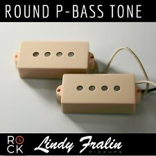 Lindy Fralin Pickups - Fender Precision Bass 5% Over P - CREAM Covers