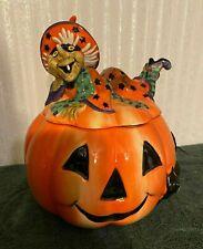 Fitz and Floyd Collectible Witch Hazel Halloween Cookie Jar