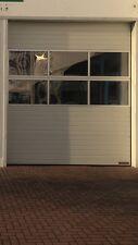 Hörmann Industrie-Sektionaltor SPU F42 stucco 3250x3750 mm Fenster WA400 RAL9002