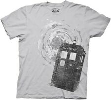 Doctor Who TV Series Traveling Tardis T-Shirt, Style 2 size 2X, NEW UNWORN