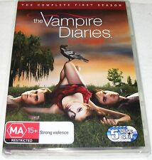 THE VAMPIRE DIARIES--Complete First Season ---(Dvd 5 Disc Set)