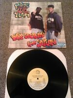HOME TEAM - VIA SATELLITE FROM SATURN LP N. MINT!!! ORIGINAL U.S LUKE RECORDS