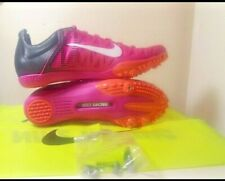 Nike Zoom Maxcat 4 Track & Field Spikes Fire Pink/Black 549150-601 Men's Size 9