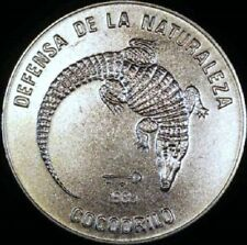 Crocodile 1 Peso 1985 Endangered Species - Protect the Environment