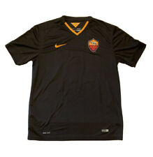 NWOT Authentic Francesco Totti #10 AS Roma Nike Dri-Fit Mens Soccer Jersey Large