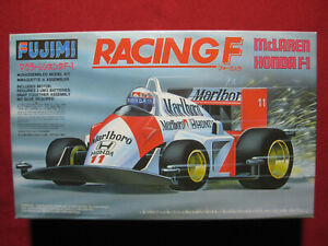 Ayrton Senna McLaren Honda MP4/4 1988 Fujimi F1 Motorized Kit Prost Vintage Rare