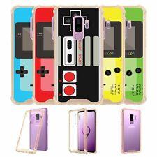 For Samsung Galaxy S9 Plus SM-G965 | S9 Plus Gold TPU Bumper Case - Retro Games