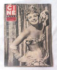 CINE-REVUE 18 juillet 1951 SHELLEY WINTERS Dick POWELL Rhonda FLEMING BRASSEUR