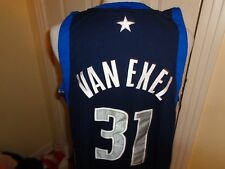 52 Nike AUTHENTIC Dallas Mavericks Nick Van Exel jersey shirt SEWN basketball
