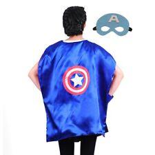 Kids Large Superhero Capes (35 in) Spiderman, Captain America, Iron Man, Hulk