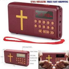 Portable English Version Rechargeable Bible Audio Player Talking King-James