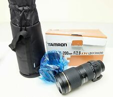 New Tamron SP AF70-200mm F/2.8 Di LD(IF) Macro A001Nii Lens For Nikon Free Ship