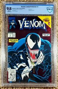 Venom: Lethal Protector #1 CBCS 9.8 Red Foil 1st Solo Series (Marvel, 1993)