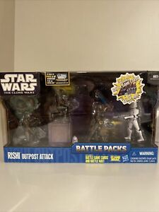Star Wars The Clone Wars Battle Packs: Rishi Outpost Attack Brand New Sealed