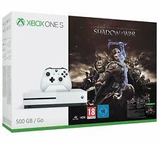 Microsoft Xbox One S 500GB Console Shadow of War Bundle BRAND NEW