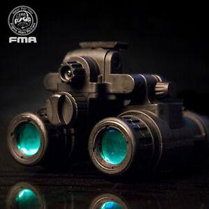 FMA Tactical Binocular Helmet NVG PVS31 Night Vision Dummy With Light Function