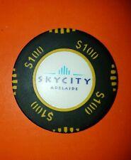 Sky City Adelaide Casino $100 Chip