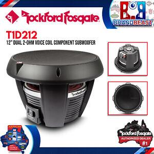 "Rockford Fosgate T1D212 Power 12"" T1 2-Ohm DVC Subwoofer"