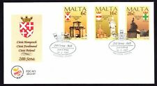 Malta 1997 Maltese Cities First Day Cover FDC SG 1038 - 1040 Not Addressed