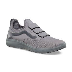 VANS ISO Priz Mono Grey UltraCush Skate Sneakers Mens Size 7.5