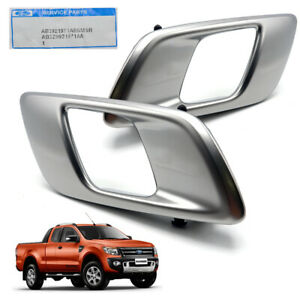 For Ford Ranger Wildtrak 2012 18 Front Lh+Rh Inner Handle Hand Door