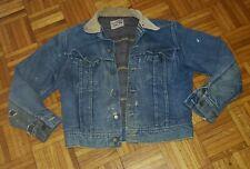 1960s Vintage LEE 101LJ Blanket Lined  STORM RIDER Denim Jacket 40 Reg TRUCKER