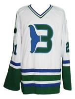 Any Name Number Size Whalers Custom Retro Hockey Jersey Macdermid White