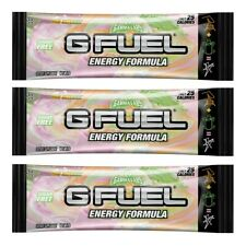 G Fuel Energy Formula Rainbow Sherbet Single Serving Packet Gfuel Gamma Labs