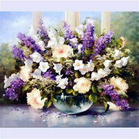 """20""""*16"""" Canvas Lavender Paint By Numbers Artist Acrylic Painting Kit Home Decor"""