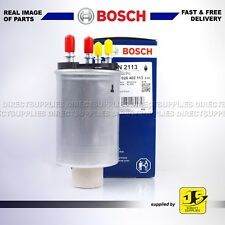 Bosch F026 402 113 Fuel Filter Metal Type Pipe 9.9mm Hose Service Land Rover