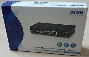 Aten VB552 VGA Extender Cat5 Erweiterung für Video/Audio bis zu 150m *NEU+OVP*