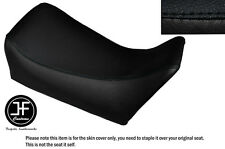 Vinilo Negro Personalizado se ajusta Gilera MX1 125 frente cubierta de asiento solamente