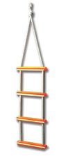 Boat Safety Rope Ladder 4 Step Boat Boarding Ladder Yacht Sailing New J71