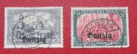 Germany Poland Danzig 1920 Mi # 13,15 СV 175 EURO Very Fine Used