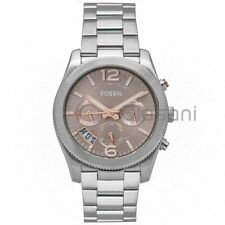 Fossil Original ES4146 Women's Perfect Boyfriend Silver Stainless Watch 39mm