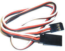 8003 f RC Compatible Futaba Servo Extension Lead 500 mm Long 3 Broche 50 cm