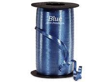 "3/16"" Navy Blue Crimped Curling Ribbon - 500 Yard Spool"