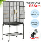 Large Bird Cage with Stand Parrot Cage for/Budgie/Cockatiel/Conure/Parakeets