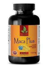Non GMO Maca Root Extract Pills - Peruvian Ginseng - Sexual Enhancer - 1 Bottle