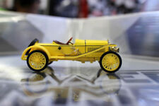1/43 Skoda Hispano Suiza Alloy Yellow Diecast Classic Vehicels Car Model Toys