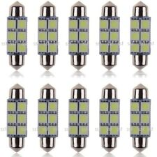 10pcs/Pack 31mm/36mm/39mm/41mm/42mm CANBUS SMD LED FESTOON BULB C10W C5W - WHITE