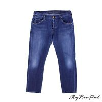 Citizens Of Humanity Boyfriend Jeans Size 26X27 Relaxed Crop Blue $238 B8