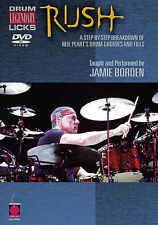 RUSH - NEIL PEART- DRUM LICKS *NEW* DVD - DRUMS DRUMSET